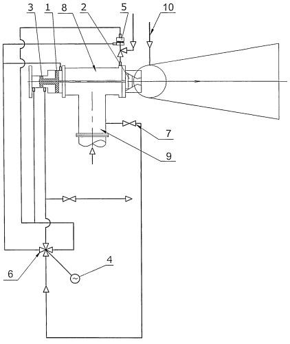 Установка и способ введения реагента в трубопровод с использованием эжектора