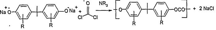 Способ получения поликарбоната на границе раздела фаз и переработки по меньшей мере части образующегося раствора хлорида щелочного металла на дополнительной стадии электролиза