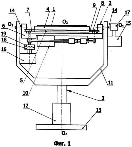 Устройство ориентации образца для нанотехнологического комплекса