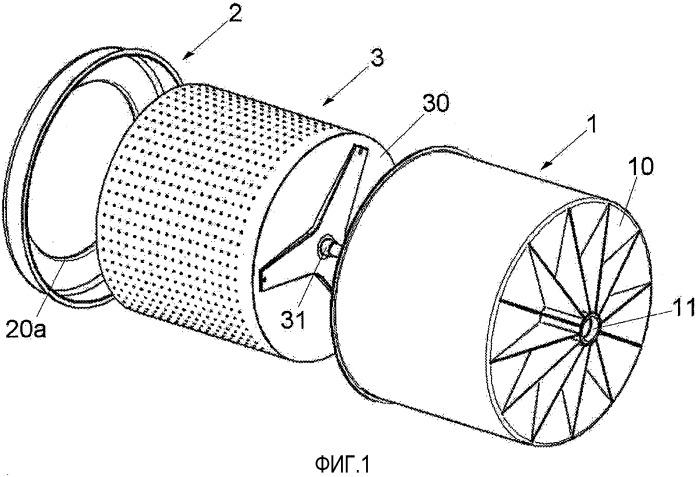 Анкерная система противовеса для стиральной машины или стиральной машины с сушкой