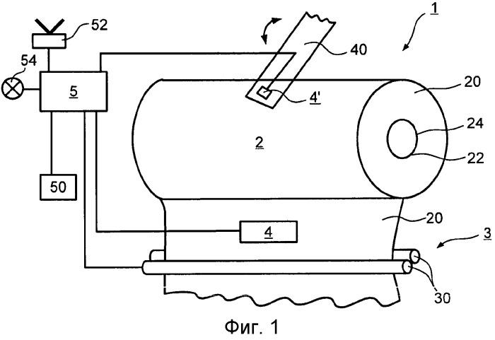 Диспенсер и рулон гибкого листового материала