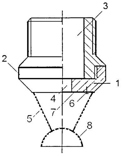Рассекатель потока для распылителей жидкости