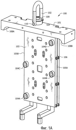 Системы и способы, использующие быстросменный технологический модуль для литья под давлением