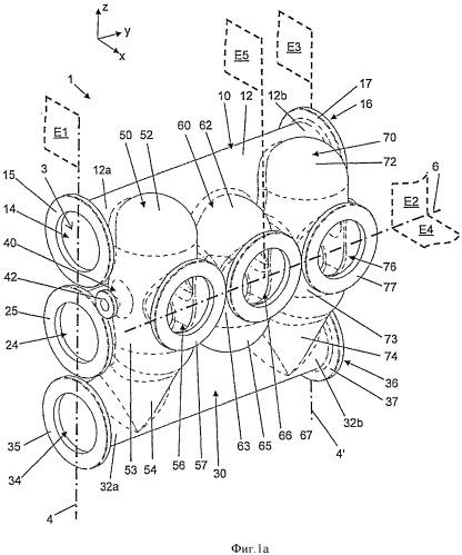 Корпус модуля распределительного устройства в сборе, модуль распределительного устройства в сборе и распределительное устройство в сборе