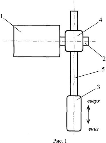 Электропривод для вертикального перемещения регулирующего органа