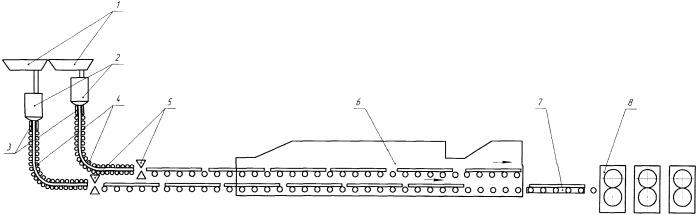 Способ изготовления горячекатаных полос и литейно-прокатный комплекс для его реализации