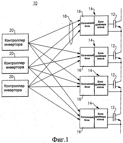 Схема и топология высоконадежной системы силовой электроники