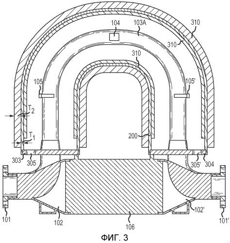 Вибрационный измеритель, включающий в себя задемпфированную деталь измерителя