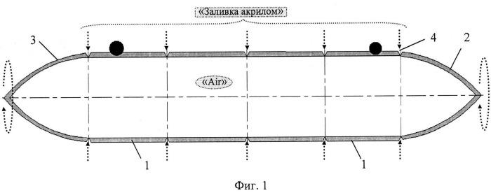 Способ формирования герметичных полых сосудов, активизирующих подъемную силу надводного транспорта, выполняющего перевозку грузов (вариант русской логики - версия 1)