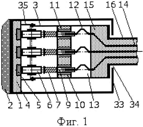 Пожаровзрывозащищенное токосъемное устройство троллейной системы электропитания транспортных средств