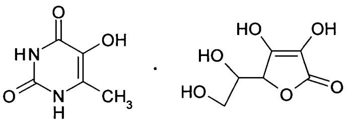 Препарат, обладающий антитоксической активностью и содержащий комплексное соединение производного метилурацила с органической кислотой, и способ его получения