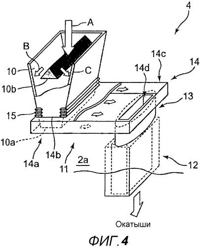 Система подачи для восстановленного железного материала