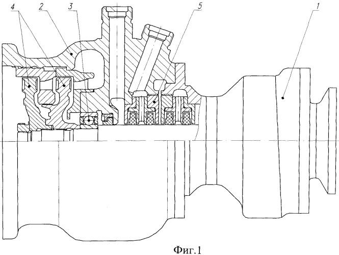 Турбонасосный агрегат окислителя жидкостного ракетного двигателя безгенераторной схемы