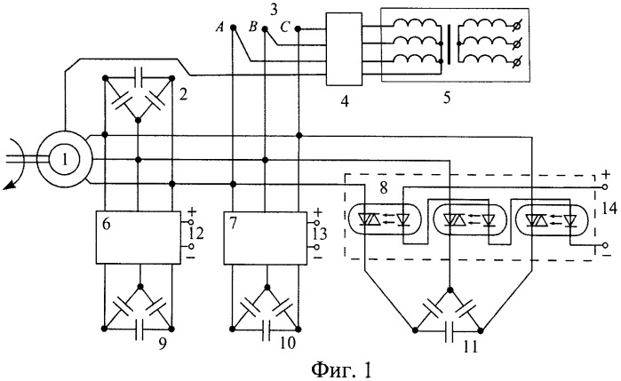 Способ измерения потерь и тока