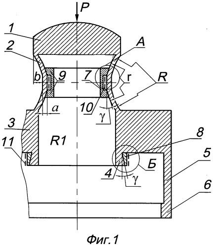 Тензорезисторный датчик силы
