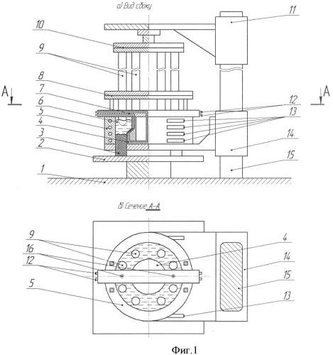 Электрошлаковая печь для получения полого слитка