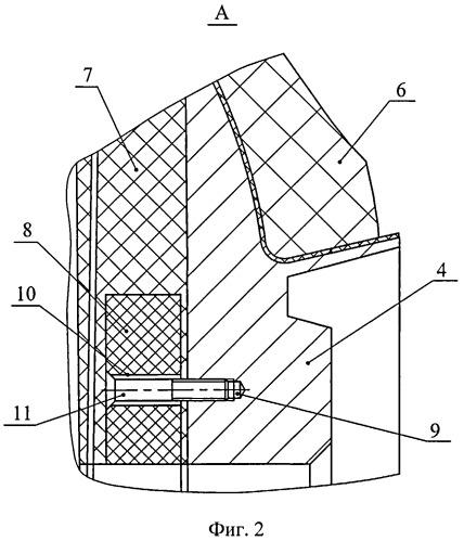 Корпус ракетного двигателя твердого топлива из композиционных материалов