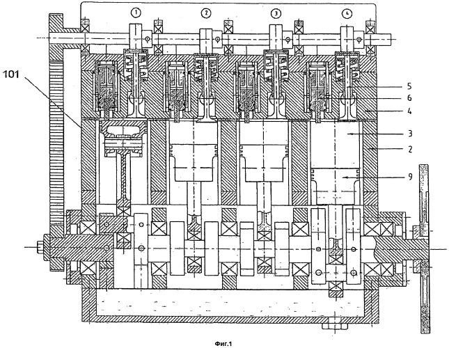 Двигатель с высоким коэффициентом полезного действия, приводимый в действие сжатым воздухом или другими поддающимися сжатию газами