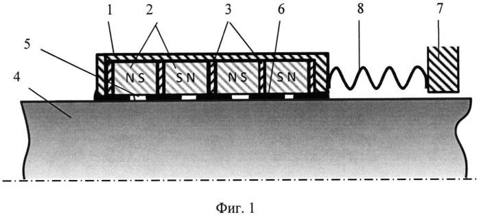 Магнитожидкостное уплотнение немагнитного вала пс38