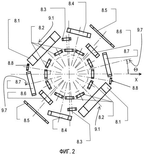 Мультисенсорная акустическая решетка для аналитических приборов электронный нос и электронный язык