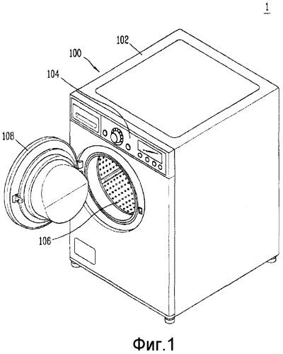 Устройство обработки одежды, содержащее устройство очистки теплообменника