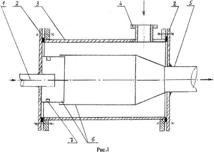 Реактор для аммонизации кислот