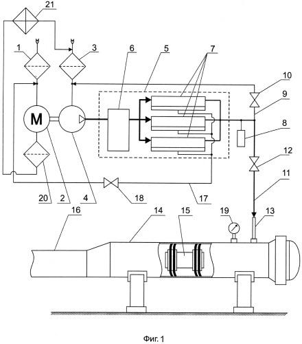 Способ взрывобезопасной очистки трубопроводов, содержащих следы углеводородов, и устройство для его осуществления