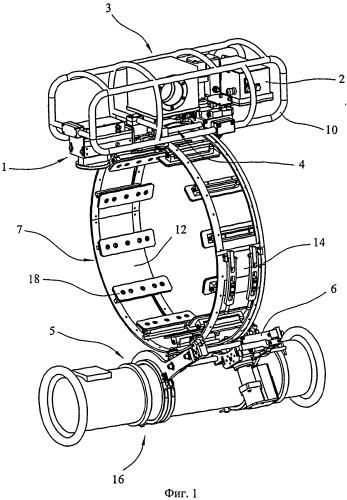 Способ и устройство для внешнего осмотра сварных швов трубопроводов
