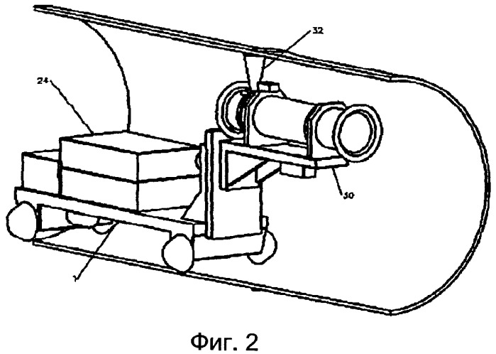 Рентгенодефектоскопическое устройство для контроля кольцевых сварных швов трубопроводов