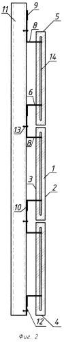 Панель облицовочная на основе минеральных или органических вяжущих