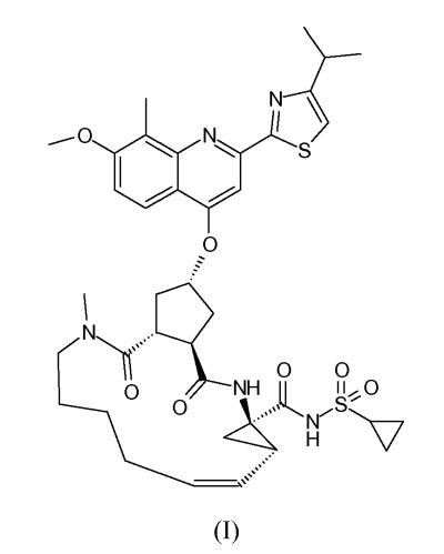 Полиморфные формы макроциклического ингибитора hcv