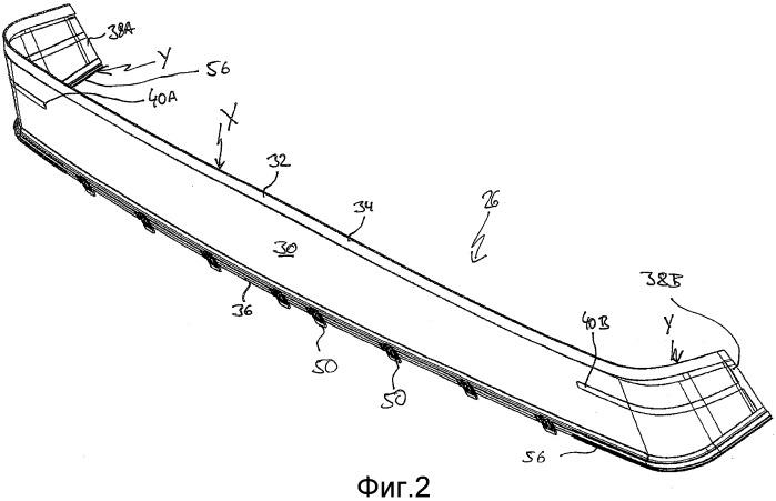 Ветровой отражатель люка в крыше транспортного средства и его изготовление