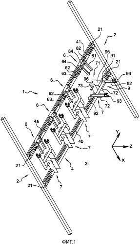 Устройство для неподвижной фиксации мотоцикла в вертикальном положении
