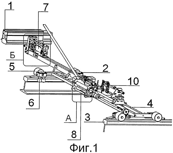 Комплекс измерительный непрерывного контроля положения контактного рельса