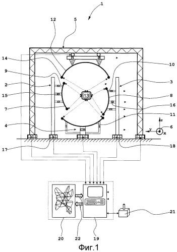 Устройство и способ для пространственного ориентирования по меньшей мере двух компонентов подгрупп
