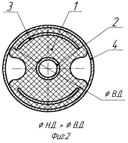 Виброизолятор мостикового типа
