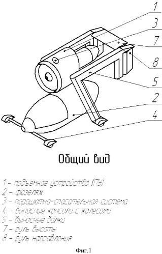 Аппарат вертикального взлёта и посадки