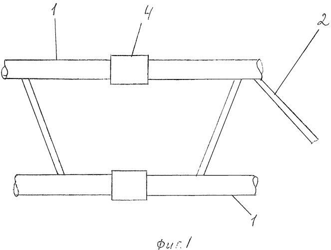Способ соединения поясных стержневых элементов ферменной конструкции