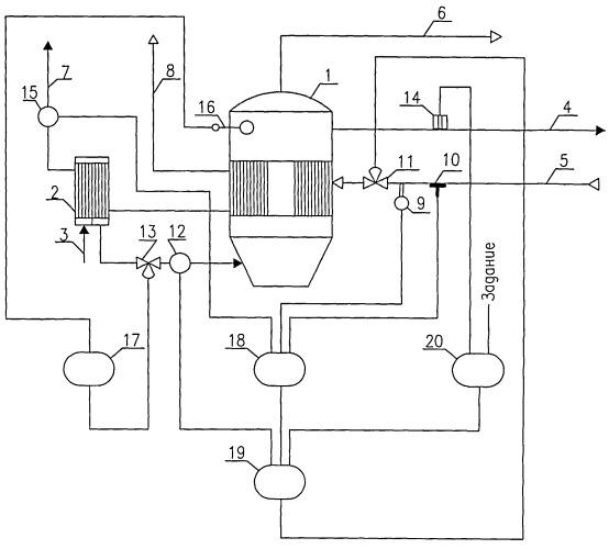 Способ автоматического управления процессом выпаривания в выпарной установке
