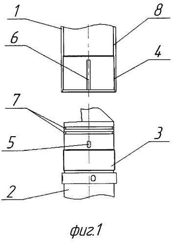 Способ герметичного соединения кожуха погружного электродвигателя с входным модулем погружных насосов