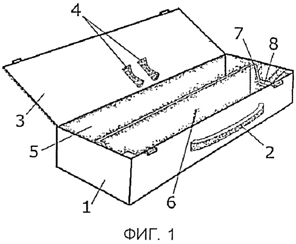 Краниальное устройство с поворотным датчиком наклона
