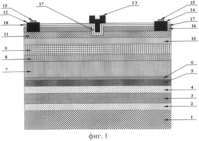 Гетероструктурный модулировано-легированный полевой транзистор