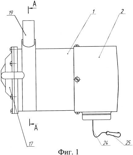 Устройство для автоматического снятия доильного аппарата