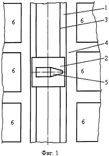 Трансбордерная тележка для трансбордера технического комплекса космодрома