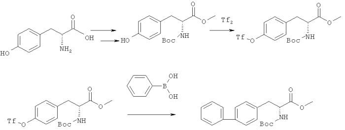 Способ получения n-ацилбифенилаланина