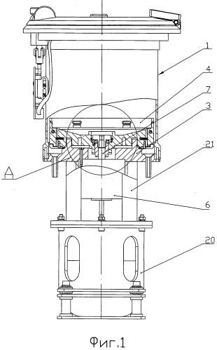 Центрифуга сепаратора компонентов крови и муфта для соединения вращающегося столика сепаратора с выходным валом привода центрифуги