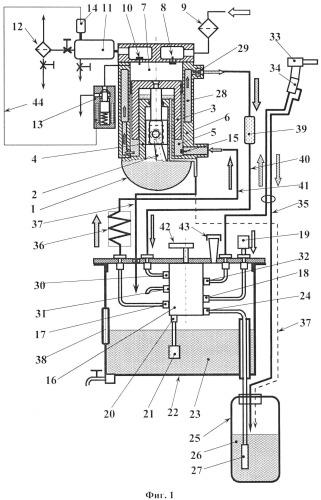 Способ работы насос-компрессора и устройство для его осуществления