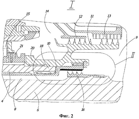 Турбина турбореактивного двигателя