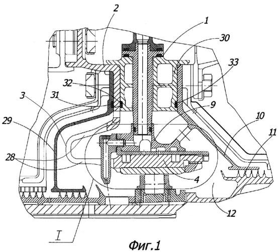 Упругодемпферная опора турбореактивного двигателя