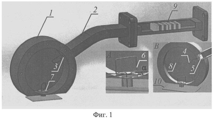 Устройство для определения параметров металлодиэлектрических структур